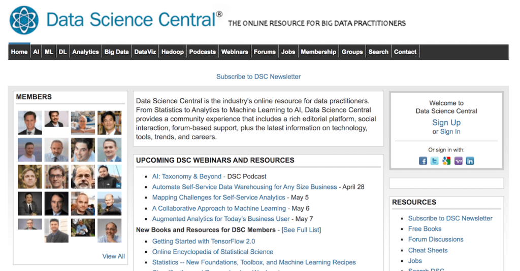 An educational resource forBigData practitioners providing learning materials and IT, AI, DeepLearning, andDataScience trends.
