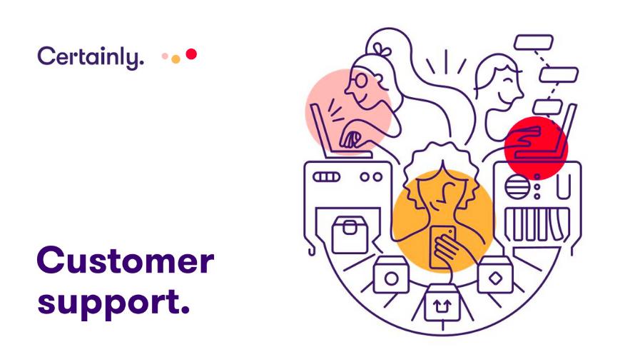 Infographic of a superior customer service dream team.