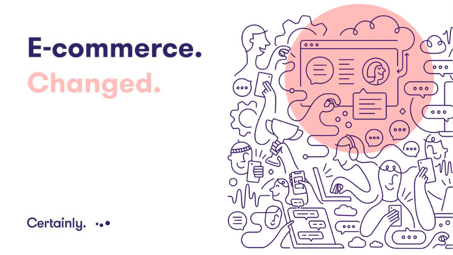 Infographic by Certainly: E-commerce Changed